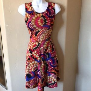 Stitch Fix Psychedelic Rainbow dress